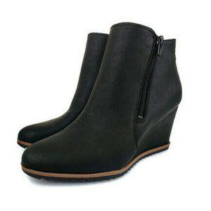 Soul Naturalizer Black Hudson Ankle Boots Size 7.5